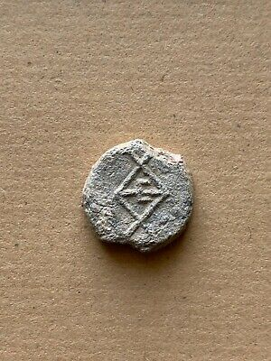 BYZANTINE LEAD SEAL/SIEGEL OF THEODOROS OFFICER (6th/7th cent.). A nice piece!