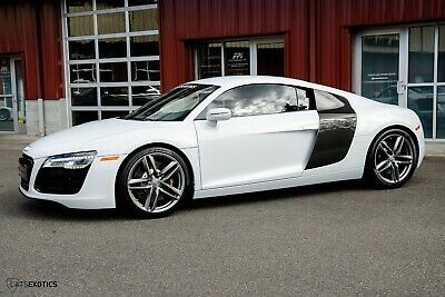2014 Audi R8 6-Speed Clear Bra Protection - Navigation - Power/Heated Seats
