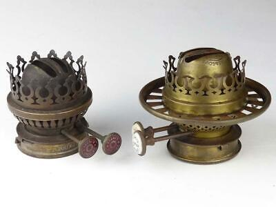 2 Antique Oil Lamp Burners for Spares Repairs – Hinks & Youngs