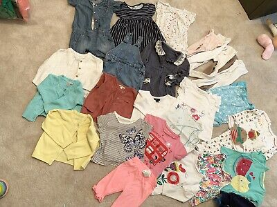 Bundle of Baby girls' clothes age 12-18 months/1-1.5 years. 26 Items. Job Lot.