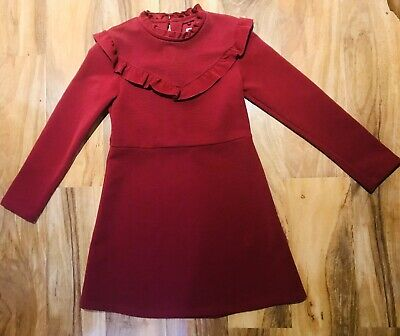 Brand New Without Tags Gorgeous Next Red Christmas Dress Age 9 Yrs