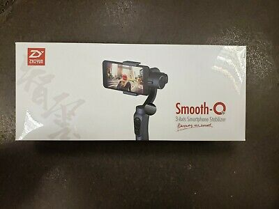 NEW Zhiyun Smooth-Q 3-Axis Handheld Gimbal Stabilizer for Smartphone (black)