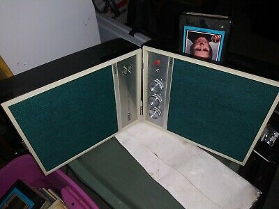 Portable 8-Track Player + 99 Tapes