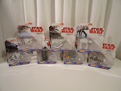 Star Wars Hot Wheels Starships Bundle Complete Set 7 Pieces