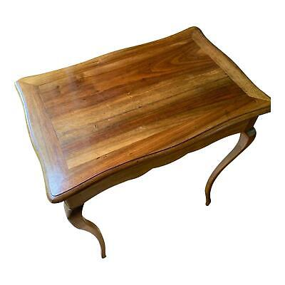 Elegant 19th Century French Provincial Fruitwood Occasional Table / Side Table