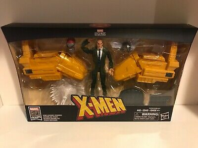 Marvel Legends Professor X Rider Series 80 YR Charles Xavier Hover Chair X-Men