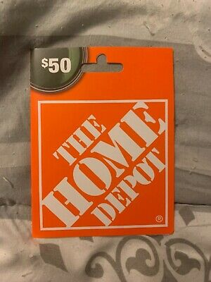 $50 Home Depot Gift Card