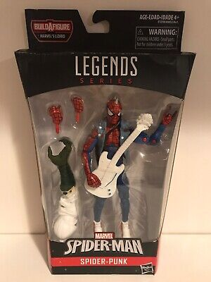 Marvel Legends Spider-Punk Lizard BAF Series Spider-Man Spider-Verse