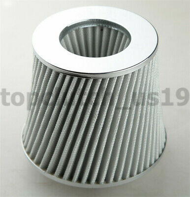 "BLUE 2.5/"" 63mm Cold Air Intake Cone Filter For Toyota Corolla Tacoma Paseo"