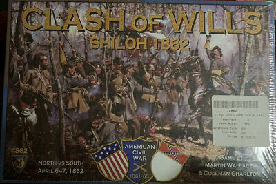 #4862 Inc Mayfair Games Board Game SEALED /'Clash of Wills: Shiloh 1862/'