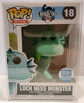 Funko Pop! Myths: Loch Ness Monster Funko Shop Exclusive! #18 with protector