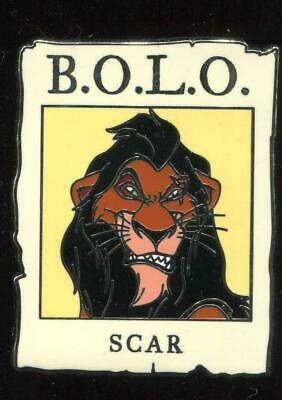 Cast Member BOLO Be On The Look Out Mystery #2 Scar Disney Pin 103863