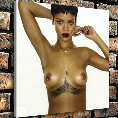 """12""""x12"""" Woman with Tattoos HD Canvas prints Home decor Room Wall art Pictures"""