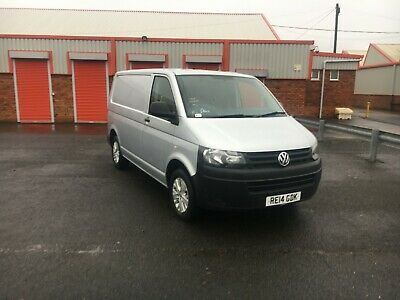 Volkswagen VW Transporter T5.1 T32 2.0TDI 140bhp SWB 6 SPEED Silver Air Con