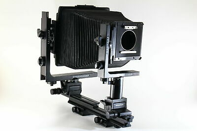 [Super Rare!] HORSEMAN LX 8x10 Large Format Camera w/4x5 Frames From JAPAN 5810