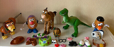 Toy Story Bundle - Rex - Slinky - Mr Potato Head (Buzz & Woody) -Mr Pricklepants