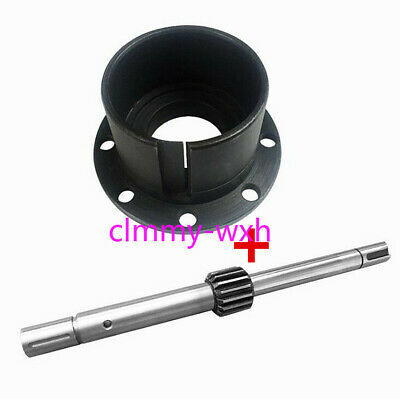 Milling Machine Part Feed Shaft Head Part Gear Shaft + Spindle clock Spring seat