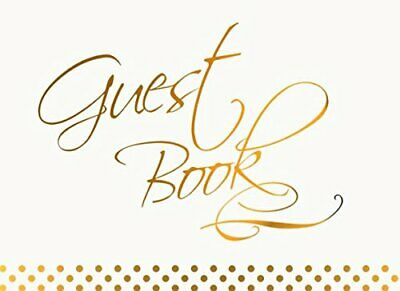 Guest Book: Visitors Guestbook for Wedding or Hospitality Sign In (NO FRILLS b 0
