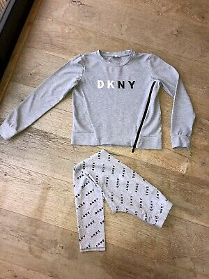 DKNY Girls Jumper & Leggings Outfit Age 14