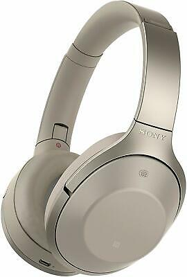 Sony MDR-1000X Wireless Noise Cancelling Bluetooth Headphones Gray/Beige