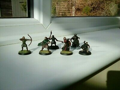 Lord of the rings Warhammer middle earth Fellowship Of The Ring 25mm miniatures