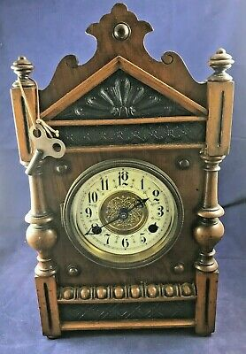 Aesthetic Antique Mantel Clock