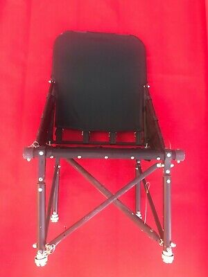 """Bell UH1 Helicopter Aft """"Single"""" Folding Seat P/N 204-070-023-5"""