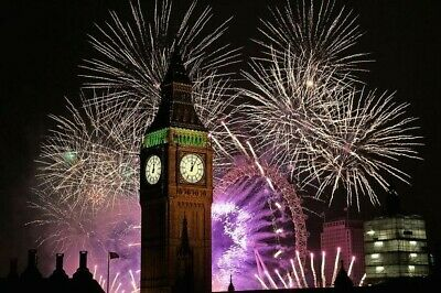 2019 London New Year Firework Tickets Red zone