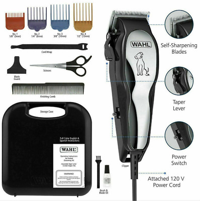 WAHL PET CLIPPERS Professional Heavy Duty Trimmer Thick Hair Dog FASTSHIPPING