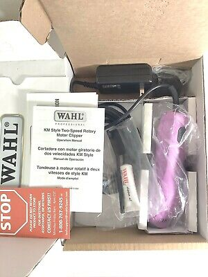 NEW Wahl Professional KM5 Pet Clippers Dog Horse Candy Pink 2 Speed 14' LongCord