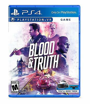 PS4 Playstation VR - Blood and Truth Video Game (M) - FREE shipping!