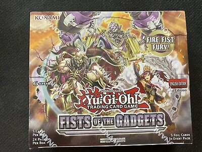 Yu-Gi-Oh Fists Of The Gadgets Factory Sealed Booster Box 1St Edition
