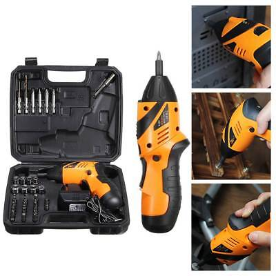 45-in-1 Rechargeable Wireless Electric Screwdriver Drill Kit Cordless Power Tool