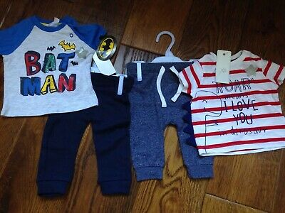 Two Baby Boy Outfits Up To 3 Months Brand New