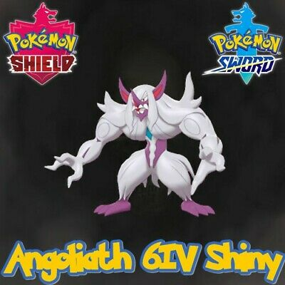 Angoliath Grimmsnarl 6IV Shiny Gigamax + Masterball - Pokémon Epée/Bouclier 8G
