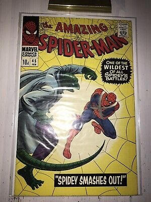 Marvel Comics AMAZING SPIDERMAN #45 CGC IT!! 3 rd Apperance LIZARD!!! High Grade