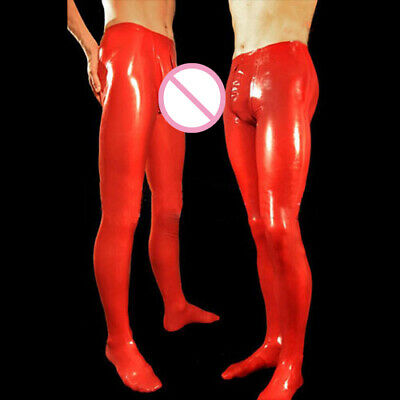 Hot Sale Latex Pants Rot Fashion Hose 100% Rubber Gummi Trousers Fixed Size M