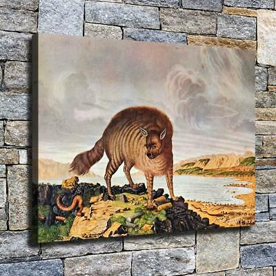 """12""""x16"""" Ancient Species Paint HD Canvas prints Home decor Room Wall art Pictures"""