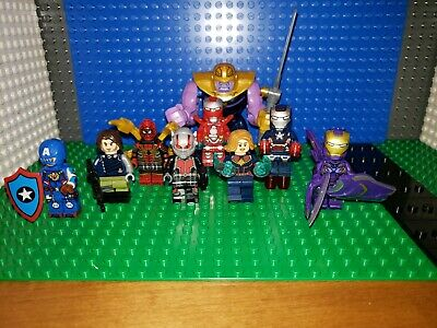 Marvel AVENGERS Endgame Minifigures lot 71 Fits Legos Thanos Iron Man Spider Ant