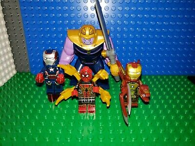 Marvel AVENGERS Endgame Minifigures lot 72 Fits Legos Thanos Iron Man Spiderman