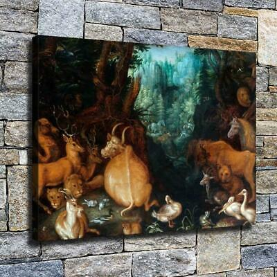 """12""""x16"""" Animals Party Painting HD Canvas prints Home decor Room Wall art Picture"""