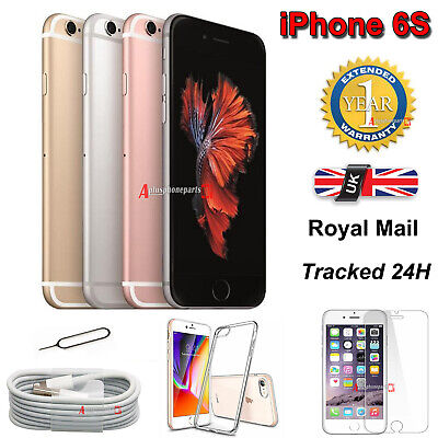 New Smartphone Apple iPhone 6s Plus SIM Free Unlocked All Colours 32GB - 128GB