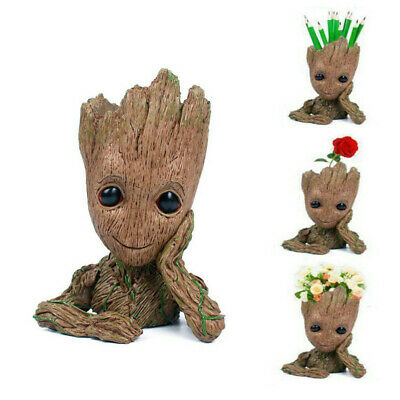 Guardians of The Galaxy Baby Groot planter Pen Flowerpot / Tree Man Action LG