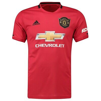 D53 Mens XL Manchester United Home Shirt 2019 - 20 with Prem Player badge