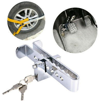 Stainless Steel Car Clutch Lock Auto Supplies Anti-theft Device Car Brake