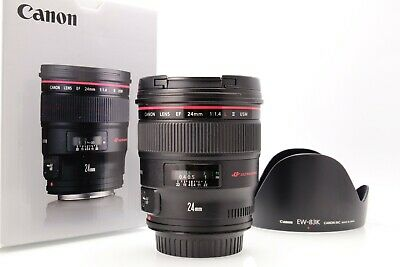 Canon Ef 24MM F: 1,4L II USM en Good Condition With Colis Emballage