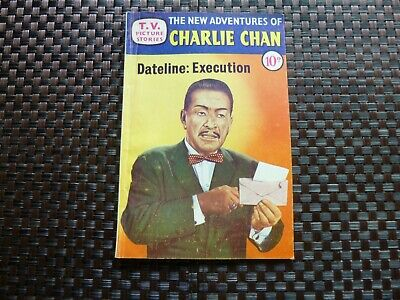 Charlie Chan Comic 1958 VG Comic without rust on staple.