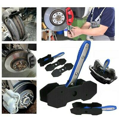 Portable Car Ratchet Brake Piston Wrench Spreader Caliper Pad Install Press