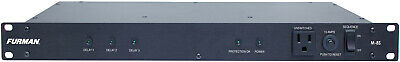 Furman M-8S 15A Standard Power Conditioner with Sequencer Rackmount 9 AC Outlets
