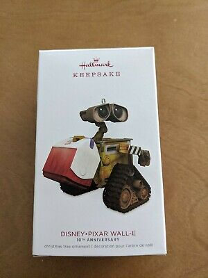 Hallmark Disney Pixar Wall-E 10Th Anniversary 2018 Christmas Keepsake Ornaments